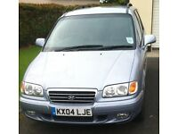 Hyundai Trajet automatic 2.0 Gsi fully loaded with 7 full leather seats
