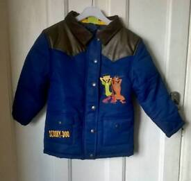 New Scooby Doo coat 5-6 years