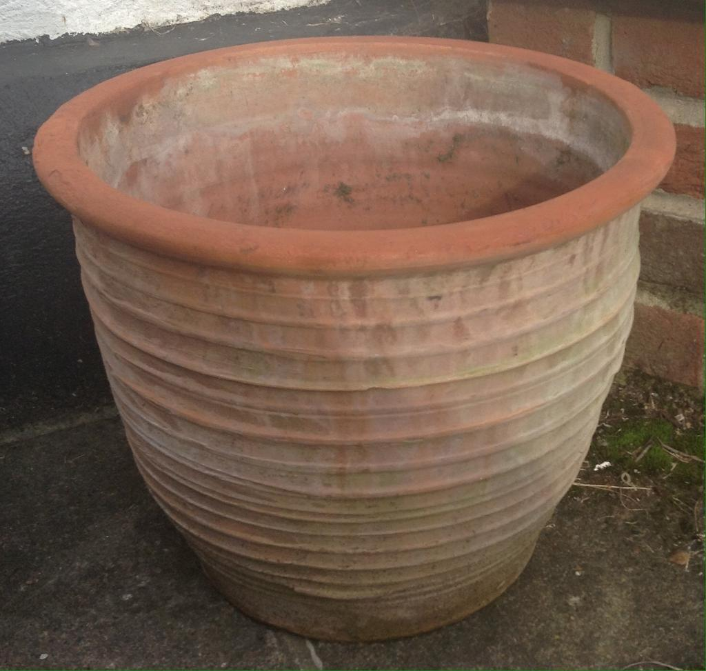 large terracotta pot in yeovil somerset gumtree. Black Bedroom Furniture Sets. Home Design Ideas