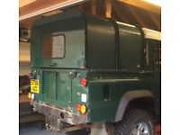 Defender 110 Ifor Williams back body for 110 double cab