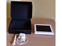 FACEBOOK PORTAL Mini 8 inch; Video Calling- White Smart Speaker, Bluetooth,What's App BRAND NEW