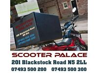 pizza box and rack including fitting from £55 - thermo box top box for all motorcycle motorbikes