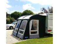 Kampa Raleigh Pro 260 Poled Porch Caravan Awning 2017. Excellent condition..Used Only Once!