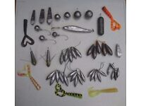 Lead Fishing Weights for kayak, boat, pier or shore (Sinkers)
