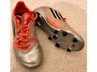 Adidas football trainers shoes boots size 1 kids