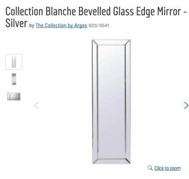 Collection Blanche Bevelled Glass Edge Mirror