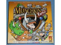 'Munchkin Panic' Board Game