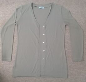 Olsen Collection - Sage Green Cardigan – size 12
