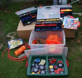 K'Nex, bundle assorted in boxes. Open for offers
