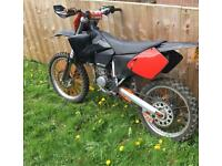Road registered Ktm sx125 2002 Full Mot mx legal Enduro crosser sx 125 125cc