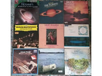 #4 -Pack of 9 vinyl records. Vivaldi, Sibelius, Grieg, Bartok, Shubert, Bruch, Holst, and the others