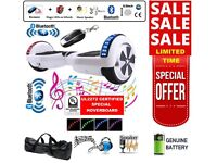 SEGWAY - Self Balancing Board - 2 Wheels Balance Scooter - Bluetooth + LED + Remote Key - UK Stock