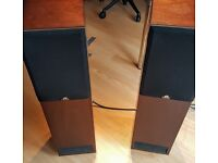 Castle Acoustics Chester floor standing mahogany speakers made in the UK