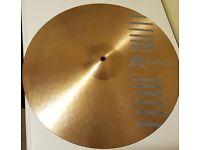 "Rogers White Hot Crash Cymbal 18"""