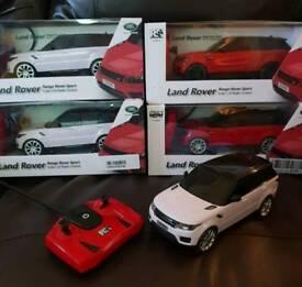 Landrover remote control cars