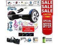 New SEGWAY - Self Balancing Board - 2 Wheels Balance Scooter, Bluetooth + LED + Remote Key UK Stock