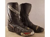 Postage Available *RST Tractech Evo CE *Motorcycle Boots *Sports Track *EU 45 UK 10.5
