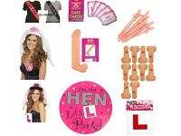 Hen Night Party Packs