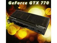 Gainward Phantom GTX 770 2GB PCIe graphic card (256-bit memory bus)
