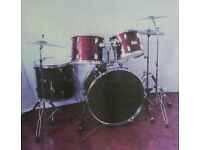 Percussion Plus Century Drum Kit - Red