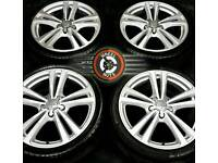 "18"" Genuine Audi/VW alloys refinished, brand new Michelin tyres."