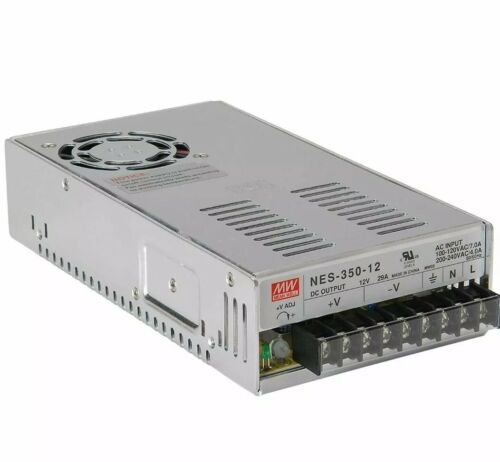 MEAN WELL LRS-350-12 350W 29A 12V Switching Power Supply 110