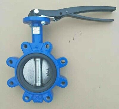 4 Inch Lug Butterfly Valve 200psi Di Body Stainless Steel Di Disc Buna-n Seat