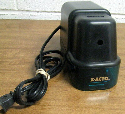X-acto Electric Pencil Sharpener Model 1922x Works Well