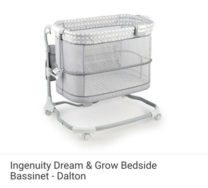 Ingenuity Dream & Grow Bedside Bassinet - Dalton, NEW!