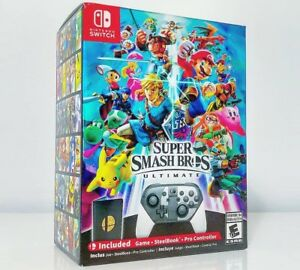 Super Smash Bros Ultimate (Limited Edition + Controller)