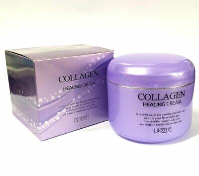 Korea JIGOTT Collagen Healing Cream 100g + Free Gift K Beauty Cosmetics