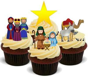 Edible Nativity Cake Topper