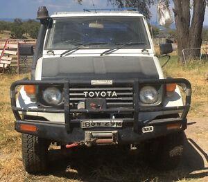 1992 Toyota LandCruiser Tipper Bundarra Uralla Area Preview