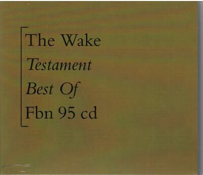 THE WAKE - TESTAMENT - BEST OF 15-TRACK COLLECTION SCOTTISH INDIE POP SEALED