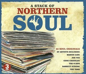 A STACK OF NORTHERN SOUL - 3 CD BOX SET - MARVIN GAYE, JOE TEX, THE TAMS & MORE