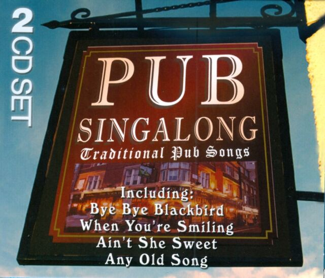 Traditional Pub Songs Singalong War Years - 2CD'S 1940s Favourites