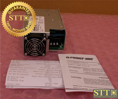 Pfc500-1048fs227 Power-one Power Supply 85-264vac 7a / 48vdc 10a New
