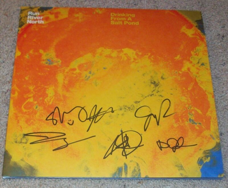 RUN RIVER NORTH SIGNED AUTOGRAPH SELF TITLED DEBUT VINYL ALBUM w/EXACT PROOF