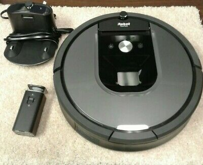 iRobot Roomba 960 Robot Vacuum Wi-Fi Connected Mapping Alexa Connectivity Grey
