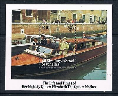 Zil Elwannyen 1985 Life & Times Queen Mother MS SG 119 MNH