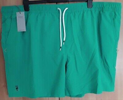M & S Jade Quick Dry Swim Shorts BNWT Size XXXXL 48-50 inch