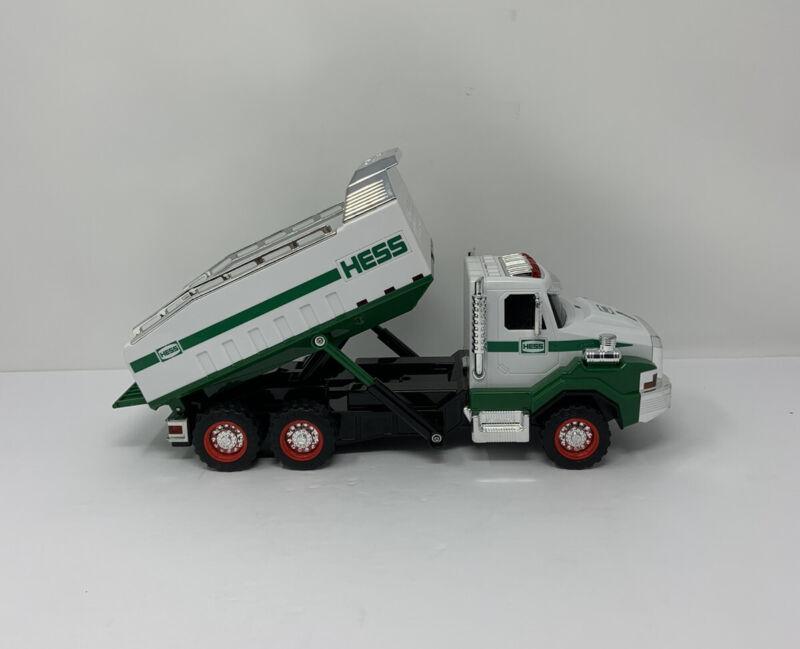 """Hess Dump Truck Sounds Lights 12"""""""