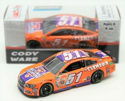 Cody Ware 2017 Action 1 64  51 Clemson University Chevy Nascar Monster Diecast