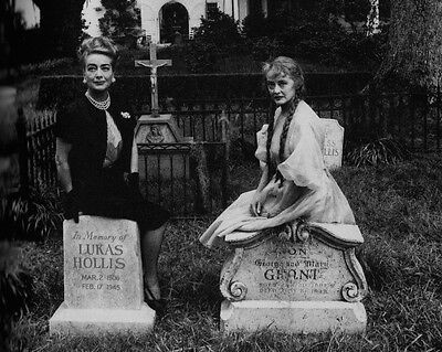 Bette Davis Joan Crawford Hush Sweet Charlotte Publicity Movie Stars 8X10 Photo
