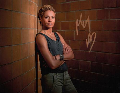 Michelle Hurd signed Blindspot 10x8 photo AFTAL & UACC [16445] Signing Details