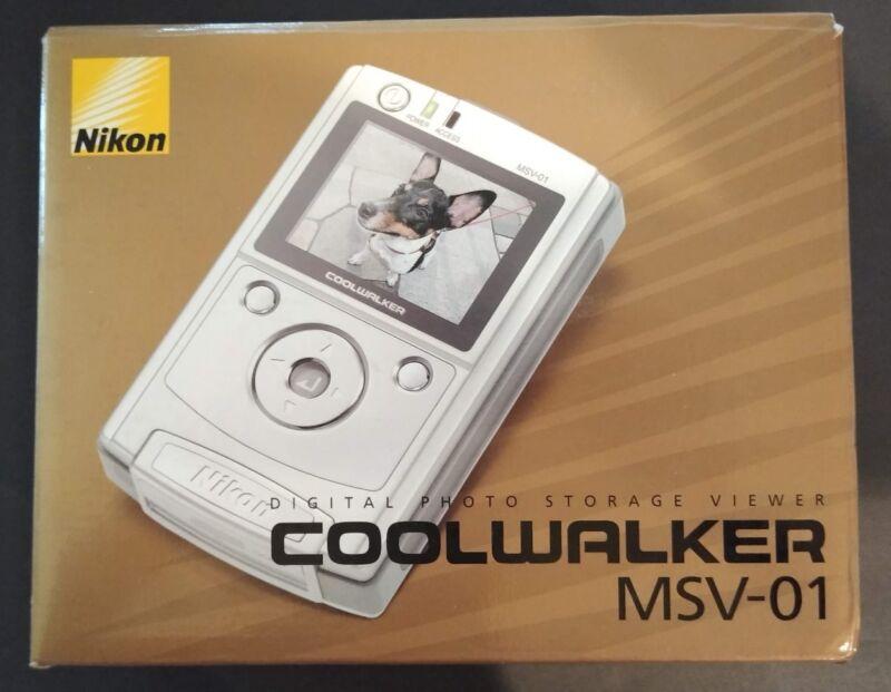 Nikon Digital Photo Storage Viewer Coolwalker MSV-01