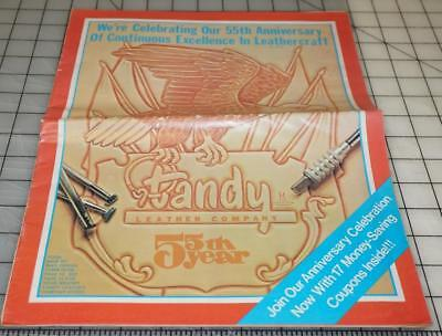 Vtg 55th Anniversary TANDY LEATHER Company Leathercraft Ideas Supplies Catalog (Catalog Party Ideas)