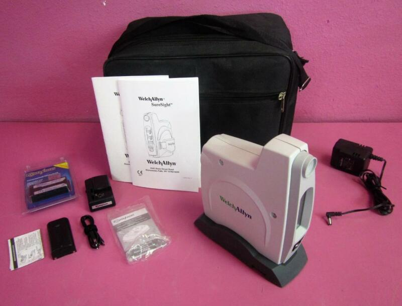 Welch Allyn SureSight 140 Series Ophthalmic Portable Vision Screener COMPLETE!