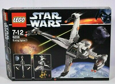 Lego Star Wars 6208 B-wing Fighter - Sealed Bags