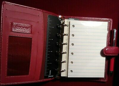 50 Ruled White Refills For Filofax Pocket Organizers With 6 Holes